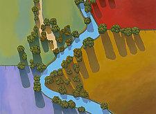 Aerial View B by Don Bradshaw (Giclee Print)