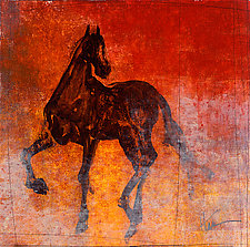 Le Cheval A by Maeve Harris (Giclee Print)