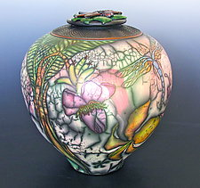 Tutu's Garden by Kate & Will  Jacobson (Ceramic Vessel)
