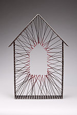 Missing Home by Ken Girardini and Julie Girardini (Metal Wall Sculpture)