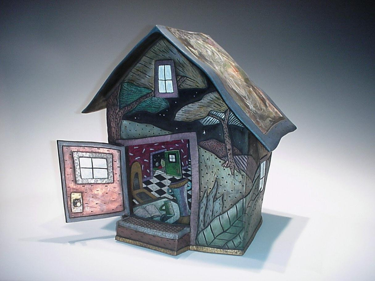 House Form By David Stabley Ceramic Sculpture Artful Home