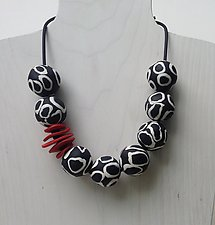 Emma Necklace by Klara Borbas (Polymer Clay Necklace)