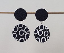 Emma Earring by Klara Borbas (Polymer Clay Earrings)
