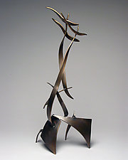 Upward Thrust by Charles McBride White (Bronze Sculpture)