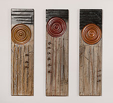 Poppies! by Kipley Meyer (Wood Wall Sculpture)