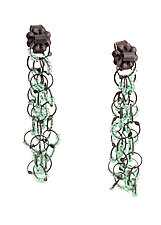Loops Earrings by Lauren Schlossberg (Silver Earrings)