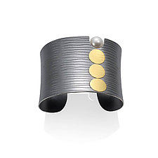 Circle Cuff by Tom McGurrin (Gold & Silver Bracelet)