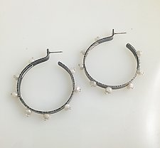 Burst Earring by Erica Stankwytch Bailey (Silver & Stone Earrings)