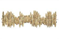 Stonehenge Statement Bracelet by Ann Chikahisa (Bronze or Silver Bracelet)
