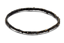 Black Caviar Bangle by Julie Cohn (Bronze Bangle)