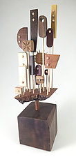 Hanataba by Hilary Pfeifer (Wood Sculpture)