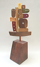Yotto by Hilary Pfeifer (Wood Sculpture)