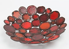 Ruby Vessel by Susan Madacsi (Metal Bowl)