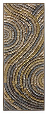 Platinum Swirl Banner by Tim Harding (Fiber Wall Art)