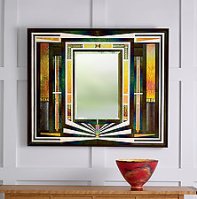 Shine by Thomas Meyers (Art Glass Mirror)