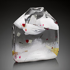 Thaw by Randi Solin (Art Glass Sculpture)