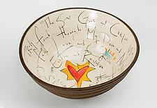 Celebration Bowl by Noelle VanHendrick and Eric Hendrick (Ceramic Bowl)
