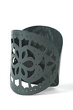 Decorative Edge Bangle by Ashley Buchanan (Brass Cuff)
