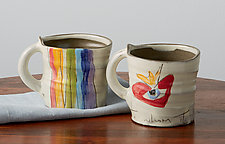 Circadian Mugs by Noelle VanHendrick and Eric Hendrick (Ceramic Mug)