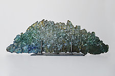 Dreamscape 42 by Mira Woodworth (Art Glass Sculpture)
