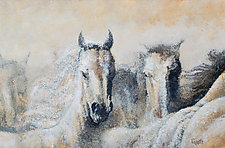 The Autumn Herd by Ritch Gaiti (Oil Painting)