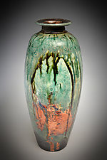 Fire Arch by Tom Neugebauer (Ceramic Vase)