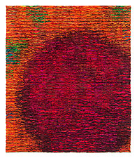 Blood Orange Colorfield by Tim Harding (Fiber Wall Art)