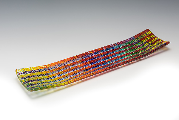 Medium Prismatic Tapestry Channel Tray