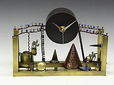 And the Point Is... by Mary Ann Owen and Malcolm  Owen (Metal Clock)