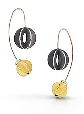 Bubble Jemloch Earring by Samantha Freeman (Gold & Silver Earrings)