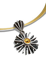 Pangolin Pendant by Samantha Freeman (Silver & Stone Necklace)