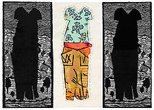Billie's Dress by Ouida  Touchon (Woodcut Print)