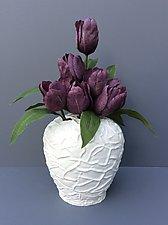 Box Work Tulupier by Clementine Porcelain (Ceramic Vase)