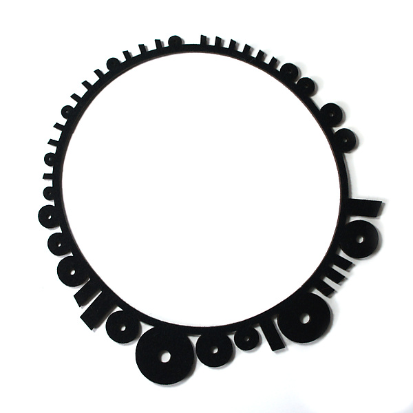 Binary Circle Necklace