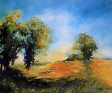 Meadow Light by Judy Hawkins (Oil Painting)