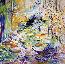 Water Dance by Judy Hawkins (Oil Painting)