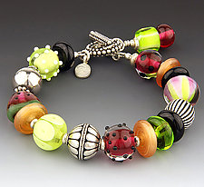 Watermelon Bracelet by Dianne Zack (Beaded Bracelet)