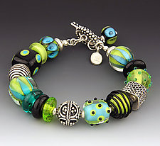 Jungle Pants Bracelet by Dianne Zack (Beaded Bracelet)