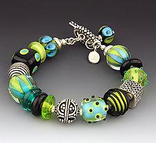 Jungle Pants Bracelet by Dianne Zack (Beaded Bracelet)