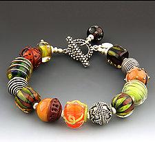 Autumn Bracelet by Dianne Zack (Beaded Bracelet)