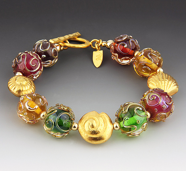 Florentine Bracelet in Golds