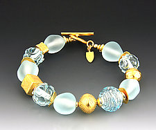 Ice Princess Bracelet by Dianne Zack (Beaded Bracelet)