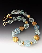 Ice Princess Necklace by Dianne Zack (Beaded Necklace)