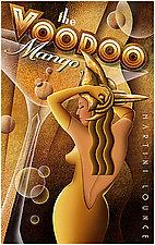 Voodoo Mango by M. Kungl (Giclee Print)