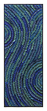 Azul Swirl Banner by Tim Harding (Fiber Wall Art)