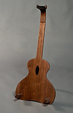 Guitar Stand #1202 by David Kellum (Wood Guitar Stand)