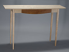 Console Table by David Kellum (Wood Console Table)