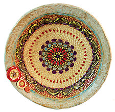Cori's Kaleidoscope Bowl by Laurie Pollpeter Eskenazi (Ceramic Bowl)