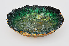 Amador Bowl by Mira Woodworth (Art Glass Bowl)