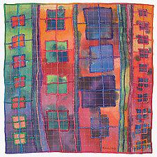 Windows #22 by Michele Hardy (Fiber Wall Art)